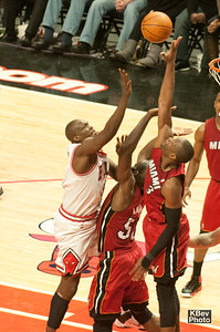 Wade came over to help and threw this to the foul line (2011)