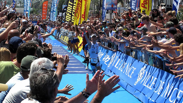 Marcel Zamora (Spain) Ironman Nice 2009 winner