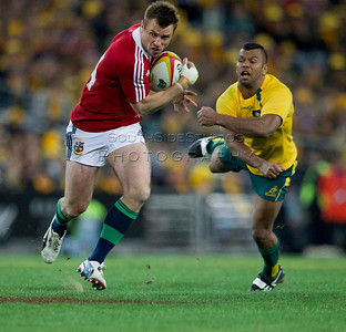 International Rugby British and Irish Lions v Australian Wallabies 6 July 2013