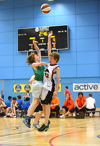 Boys Basketball, Surrey Youth Games. Guildford Borough Council