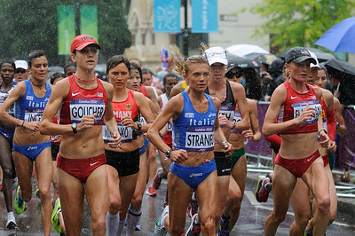 Womens Olympic Marathon. Stock