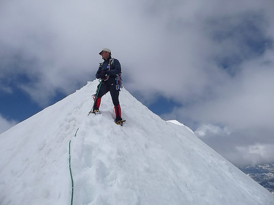 Piz Palù, Western summit (3.882m), Switzerland