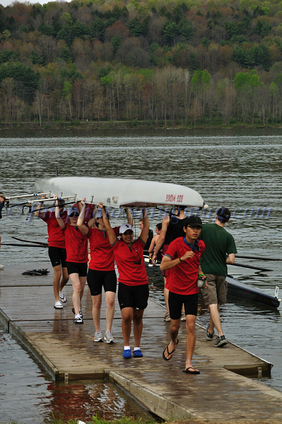 Stony Brook novice women's team. NYS College Championships 2010.