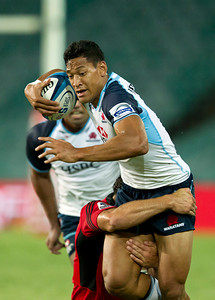 Super 15 Rugby Waratahs v Crusaders 14 February 2013