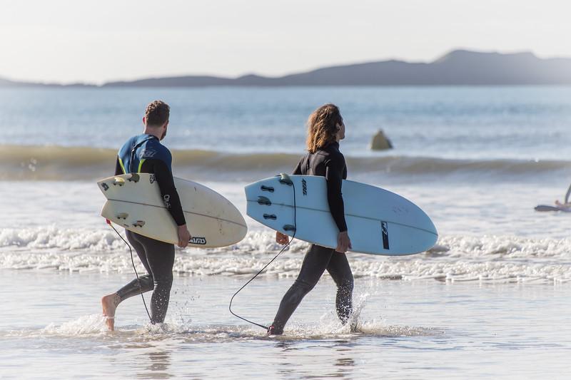 Surfers (Rhossili beach)