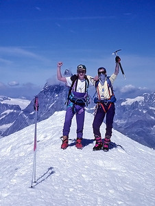 Western Breithorn summit (4.165m), Italy, Switzerland