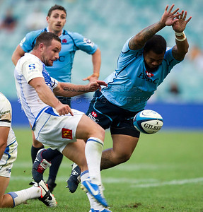 Super 15 Rugby Waratahs v Force 31 March 2013