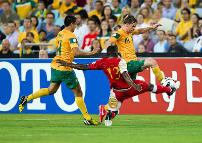 FIFA Asian Qualifier Australia v Oman 26 March 2013