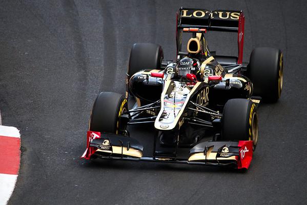Kimi Raikkonen (Finland) - GP Monaco Formula 1, 2012
