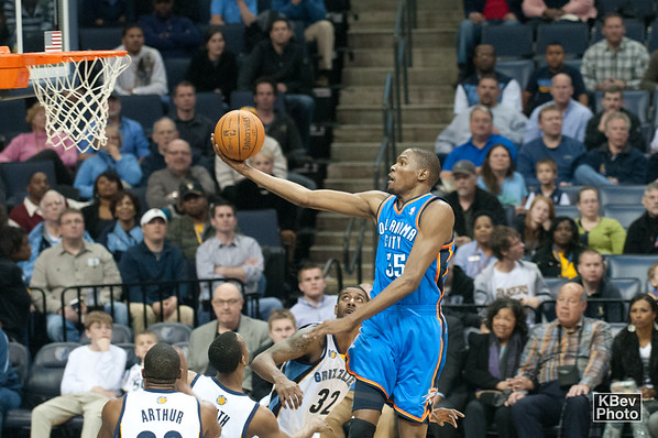 Finger roll... (Durant, 2011)