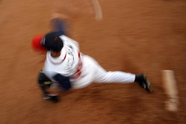 Pitcher blur