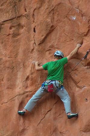 Rock Climber Image