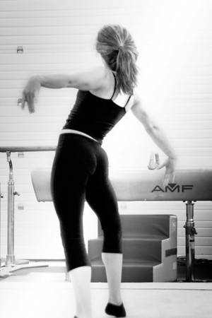In The Gym, Black and White