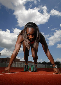 Former Ridgeland High School track star Bianca Knight is now training to make the U.S. Olympic team.