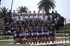 Football Team and Cheerleading Squad Photo