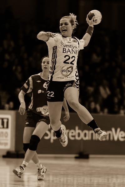 Porey Rosa Stefansdottir from Team Tvis Holstebro (Denmark)