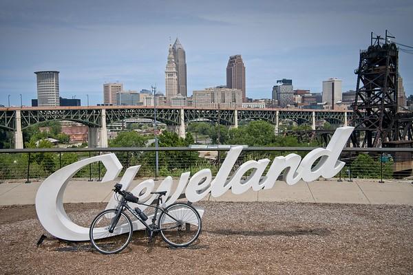 Cleveland Sign Bike Ride