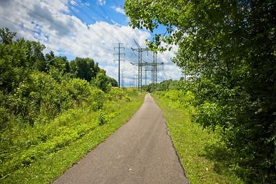 Bike and Hike Trail to Brandywine Falls
