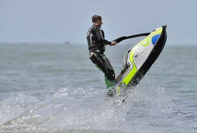 Jet Skiers at Edgewater Park