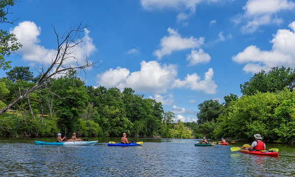 Kayaking on the Black River