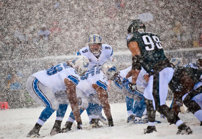 NFL 2013: Lions vs Eagles DEC 08