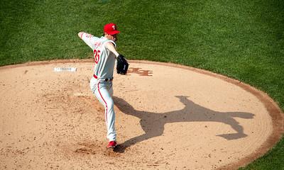 Phillies' pitcher Cole Hamels