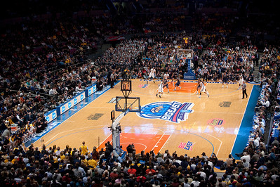 NCAA: General view of the 2010 Big East Championship game between the West Virginia Mountaineers and the Georgetown Hoyas at Madison Square Garden in New York City.