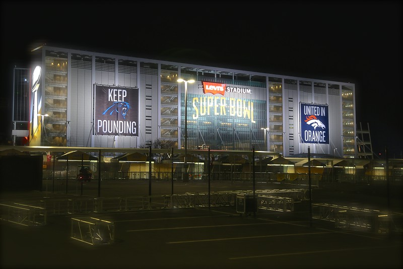 2 MORE DAYS SUPER BOWL 50  Early Friday Morning at Levi's Stadium Feb. 5th, 2016