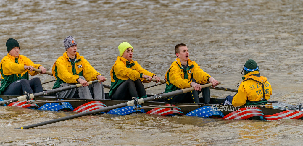 Rowing Races on the Cuyahoga River