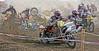 Motocross, Villigen, Sidecar race accident
