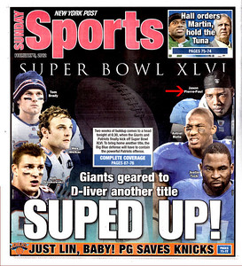 Publication: NY Post. Photographer Duncan Williams(Jason Pierre-Paul)