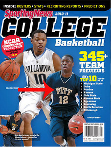Publication: 2010-11 Sporting News College Basketball issue.  Photographer: Duncan Williams