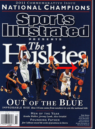 Publication: April 2011 Sporte Illustrated Presents UConn National Champions Issue. Photographer: Duncan Williams