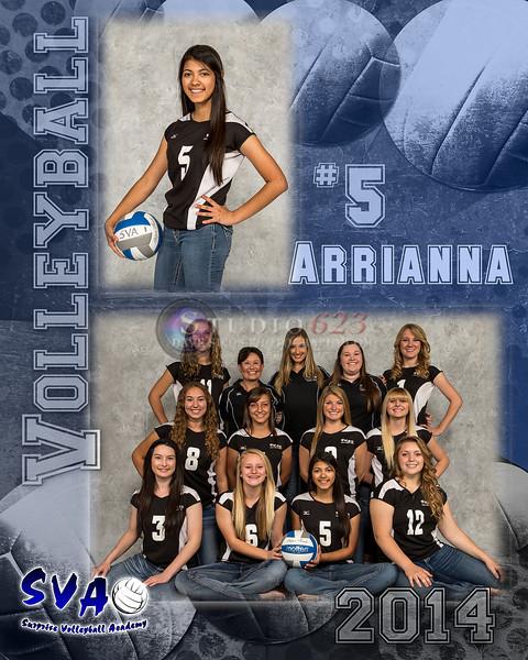 #5 Arrianna