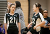 (21) Riley Lease of Surprise Volleyball Academy 16-1 Rage and (22) Taylor Sipos of Surprise Volleyball Academy 16-1 Rage
