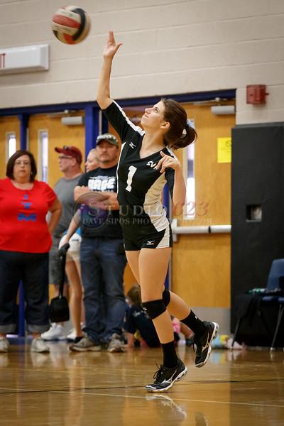 (1) Cayla Schoen of Surprise Volleyball Academy 16-1 Rage