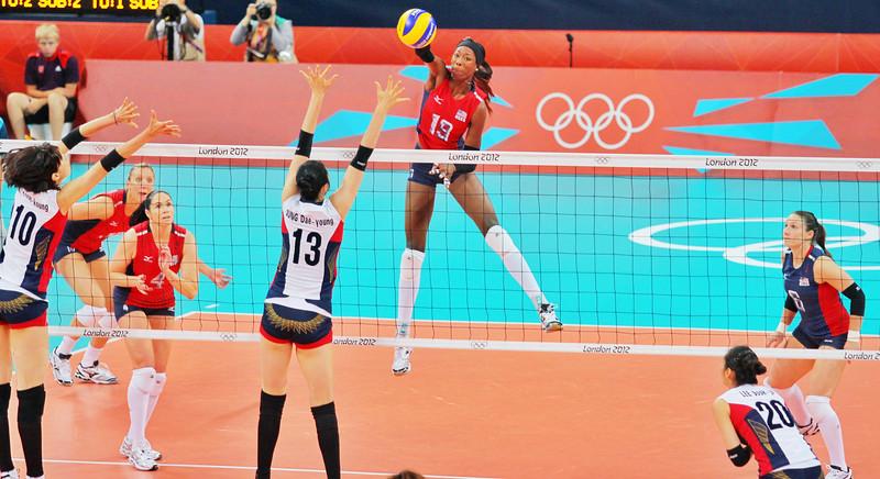 Destinee Hooker USA Women's Volleyball