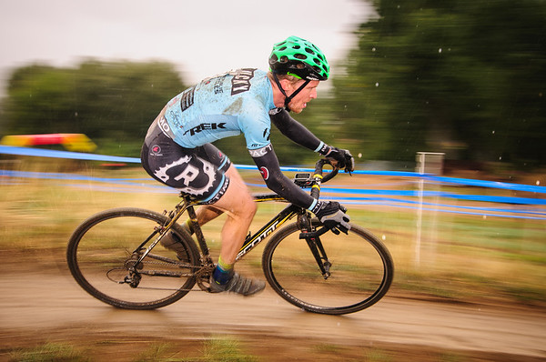 A wet day of cyclocross.  Valmont Bike Park, Boulder, Colorado.
