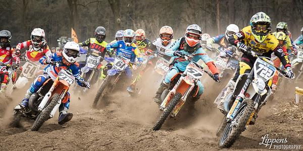 Start, Motorcross Moerbeke-Waas, Belgium