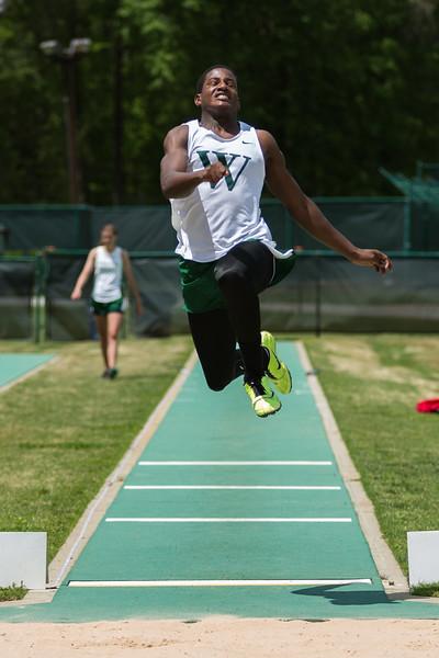 long jump at regionals