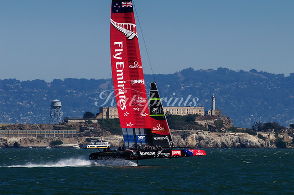 Team New Zealand and Alcatraz