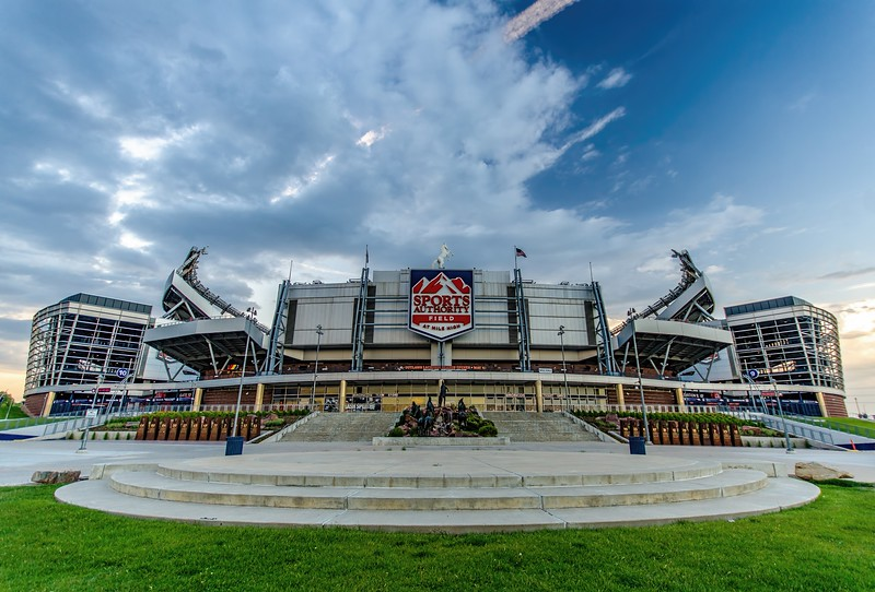 Sports Authority Field at Mile High, Denver, Co, USA