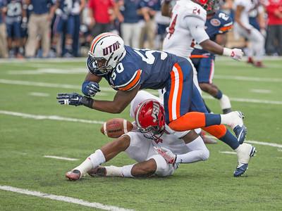 NCAA FOOTBALL: SEP 26 Jacksonville State at UT Martin