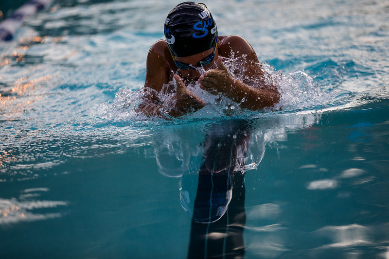 Taken at last night's swim meet