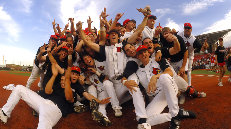 Louisville advances to the College World Series after defeating Oklahoma State in the Super Regional.
