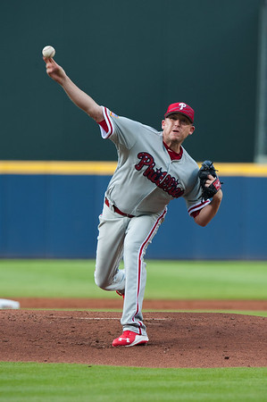 MLB: JUL 04 Phillies at Braves