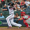 MLB: JUL 04 Phillies at Braves