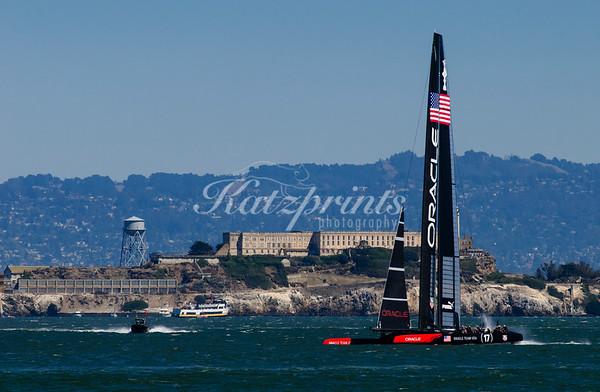 Team Oracle and Alcatraz