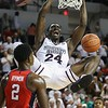 Mississippi State's Abdul Ado (24) dunks the ball.