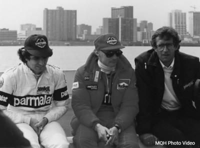 Nelson & Niki - 1983 Detroit Grand Prix